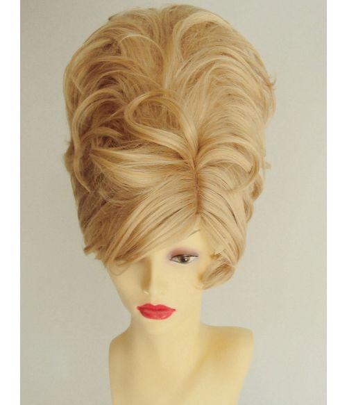 Beehive Wig Blonde 60s