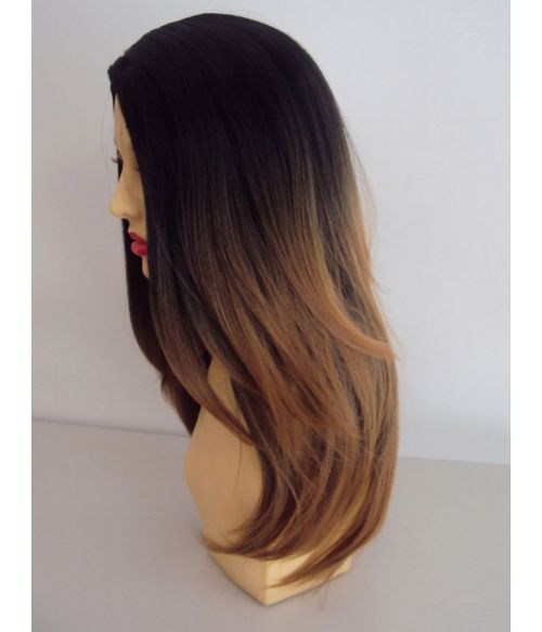 Black To Blonde Ombre Wig
