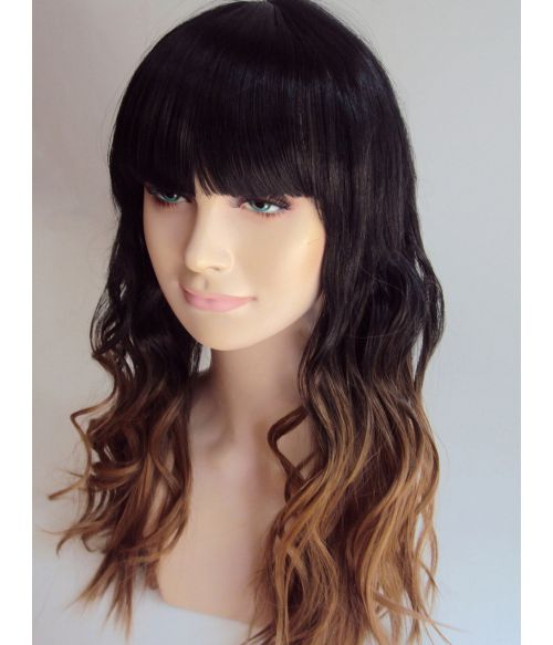 Black To Blonde Wig Ombre