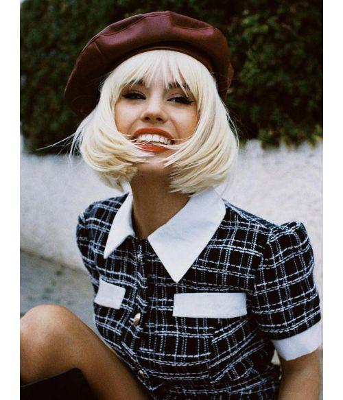 Blonde Bob Wig Platinum