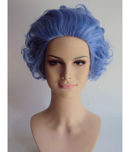 Grandma Wig Blue Rinse
