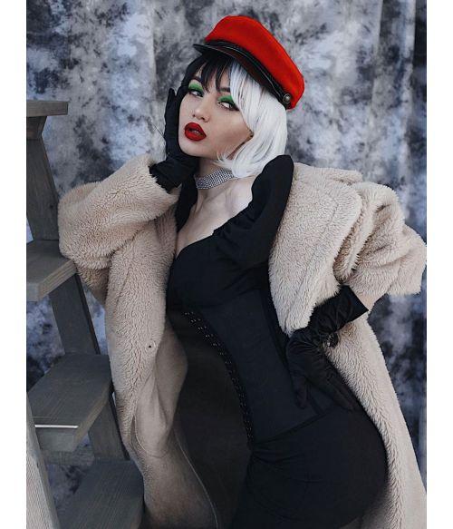 Cruella Deville Costume Wig