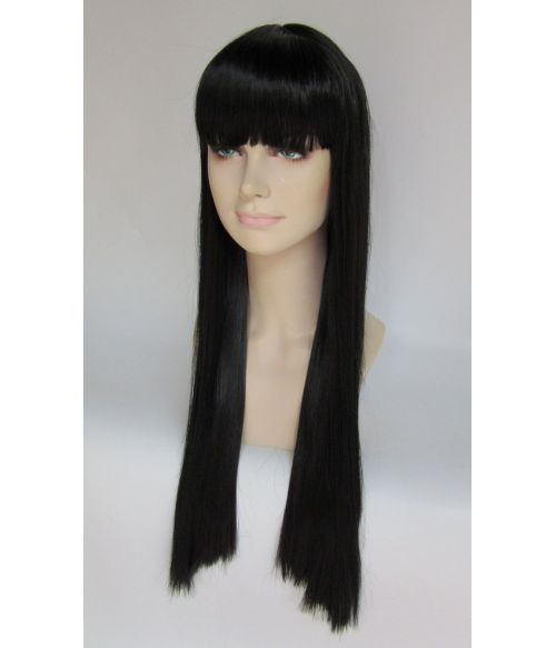 Long Black Celebrity Wig