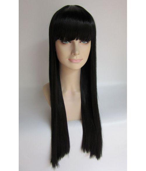 Lady Gaga Long Black Hairpiece