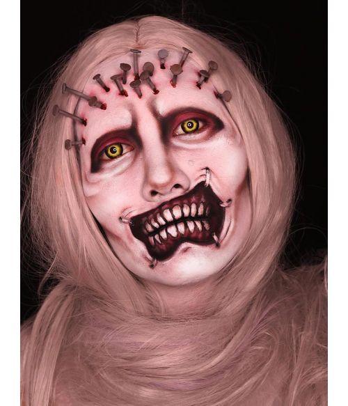 Light Grey Halloween Wig