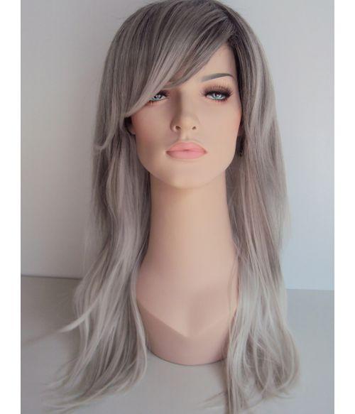 Grey Wig Ombre
