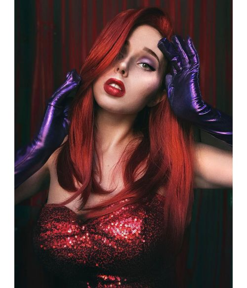 Jessica Rabbit Wig Costume