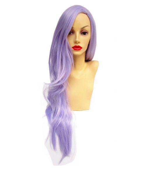 Lilac Wig Purple Long