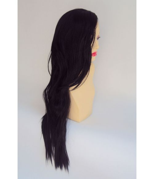 Kylie Jenner Extra Long Black Wig
