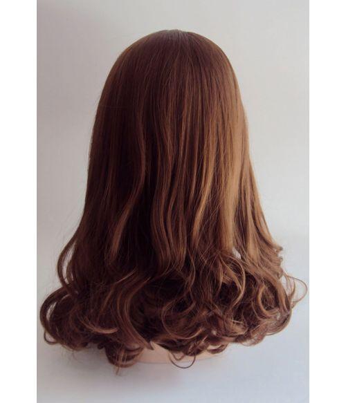 Kate Middleton Wig Long Brown Natural