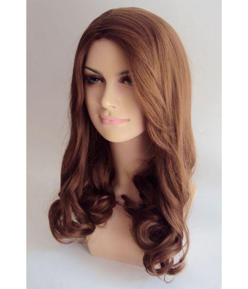 Kate Middleton Wig Natural Long Brown