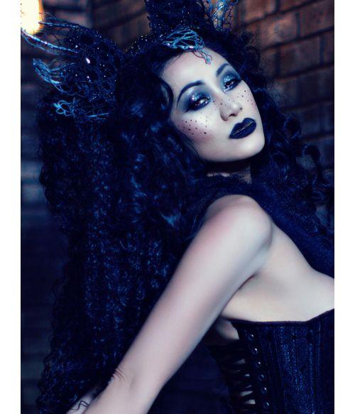 Kinky Afro Wig Black Long