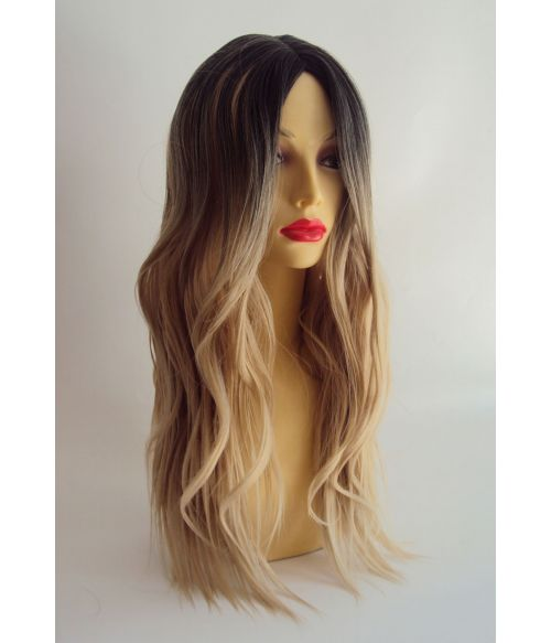 Long Blonde Fashion Hairpiece