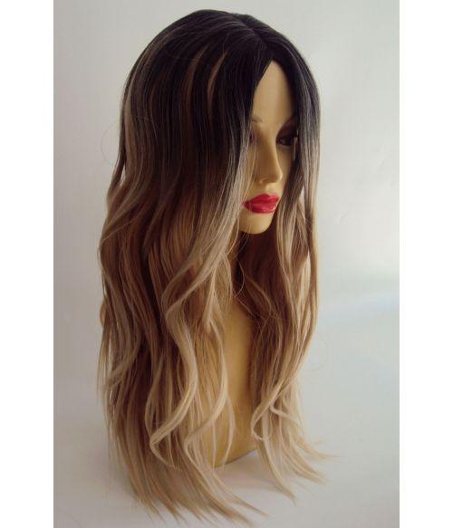 Long Wavy Blonde Fashion Hairpiece