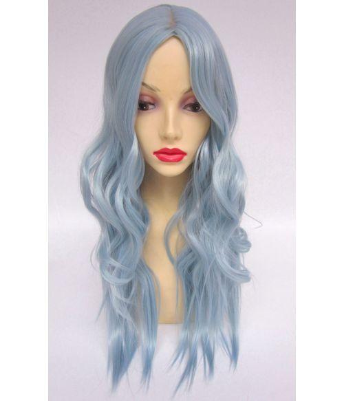 Pastel Blue Wig UK