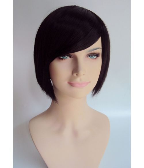 Short Brown Fashion Wig