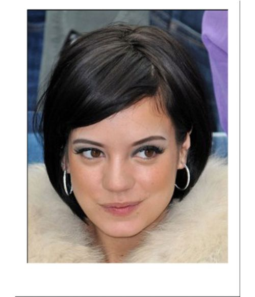 Lily Allen Cropped Fashion Wig