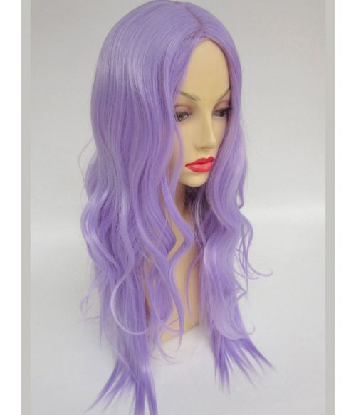 Light Purple Wig Wavy