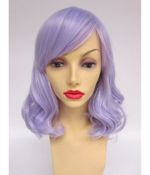 Lilac Mid Length Wig