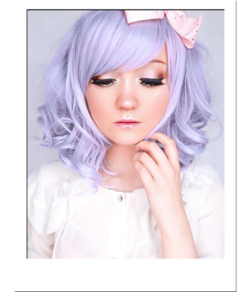 Lilac Mid Length Wig UK