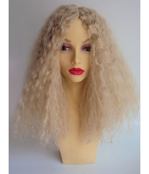 Long Afro Wig Blonde