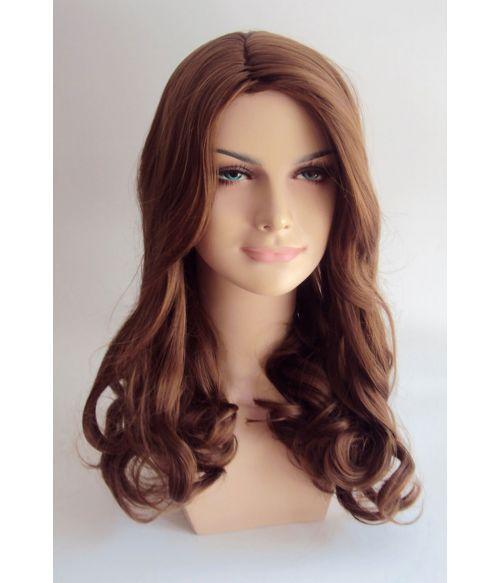 Long Brown Kate Middleton Wig