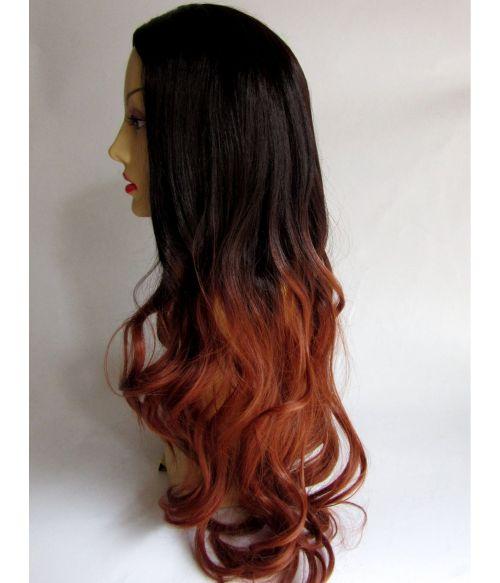 Ombre Wig Long Wavy