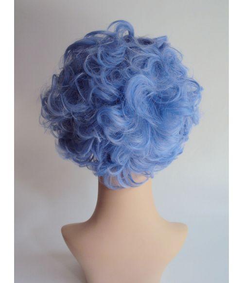 Blue Rinse Grandma Wig