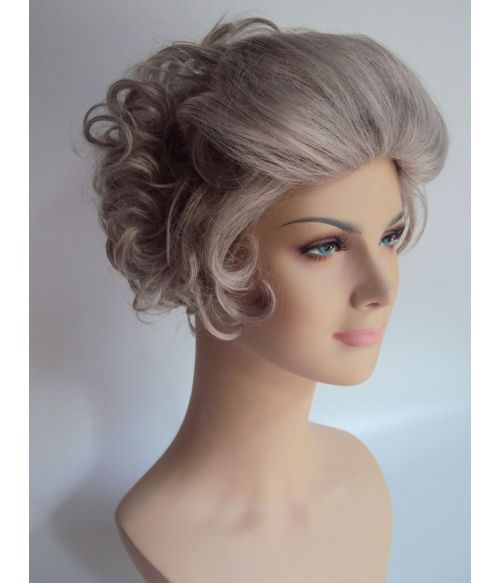 Old Lady Wig Grey