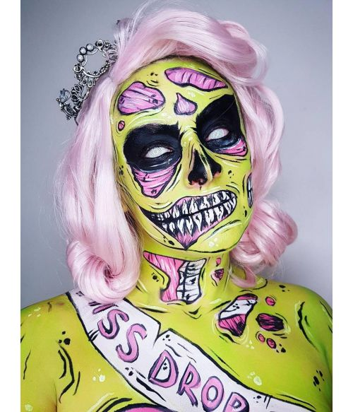 Pastel Pink Wig Wavy
