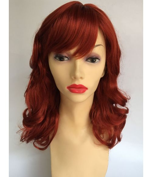 Pin Up Girl Wig Ginger
