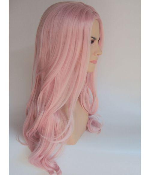 Pink Wig Pastel