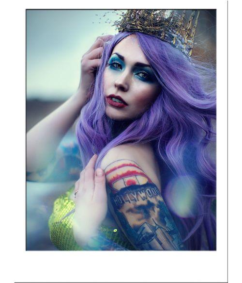 Purple Wig Pastel