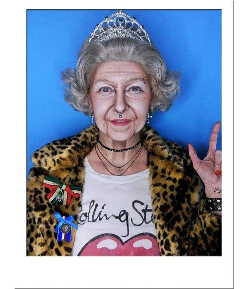 Queen Elizabeth Wig