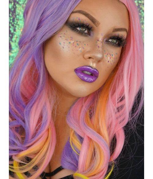 Rainbow Wig Pastel