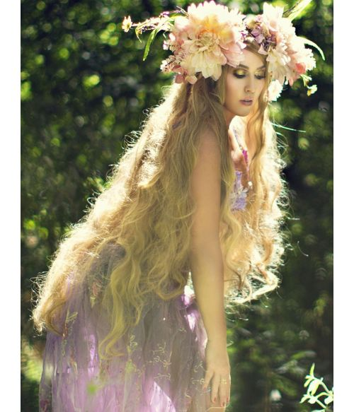 Rapunzel Cosplay Wig