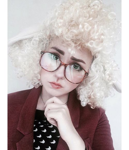 Sheep Wig Cosplay