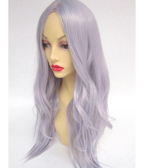 Silver Wavy Wig