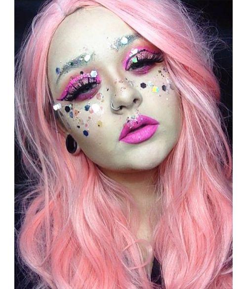 Soft Pink Wig