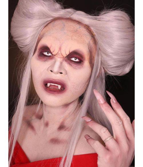 Vampire Wig Grey