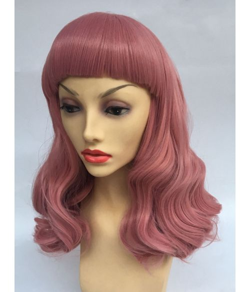 1950s Wig Pink