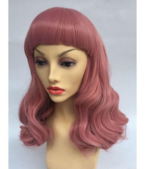 1950s Wig Pink