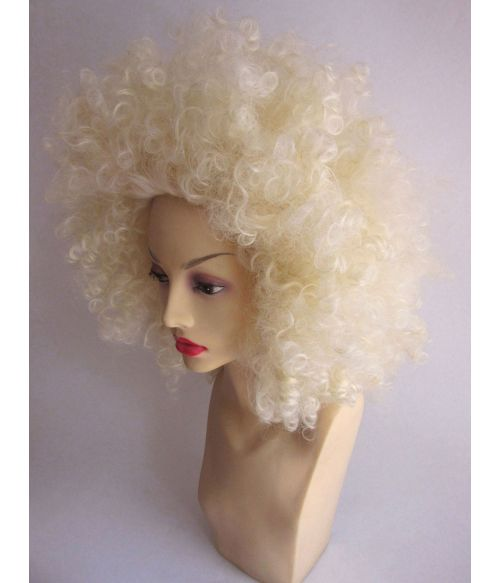 70s Wig Afro Blonde