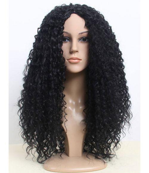 Afro Wig Black Long