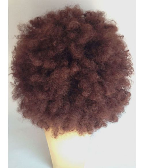 Afro Wig Brown Large