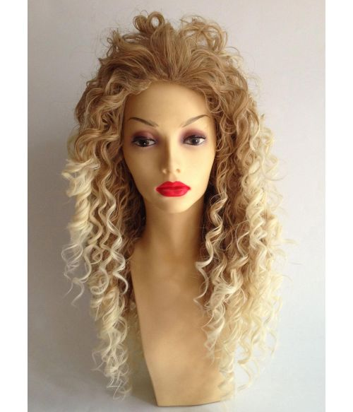 Afro Wig Long Blonde