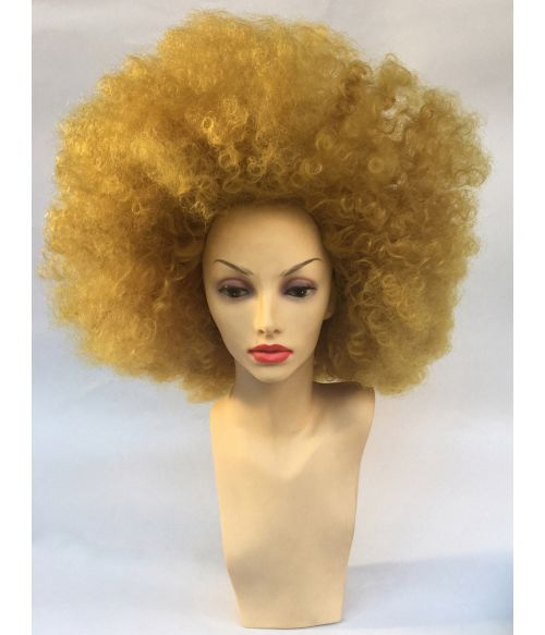 Afro Wig Yellow