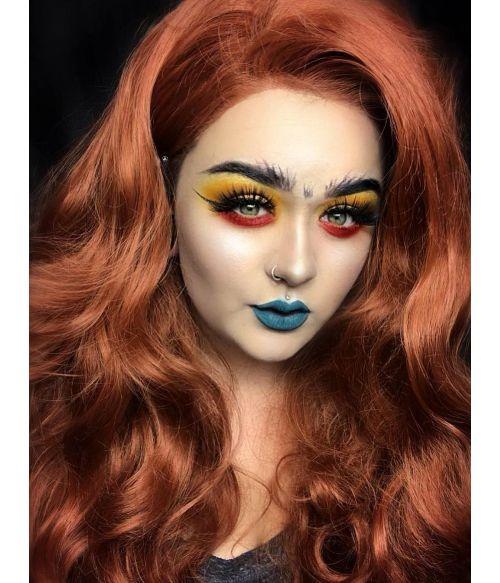 Auburn Wig Lace Front