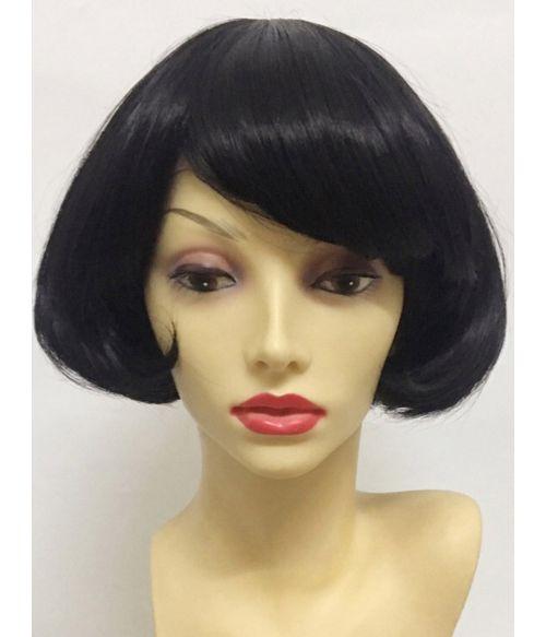 Black Pixie Wig Short Bob