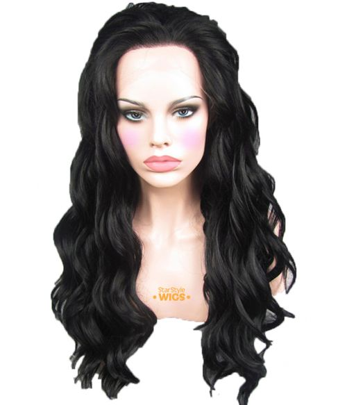 Black Wig Lace Front